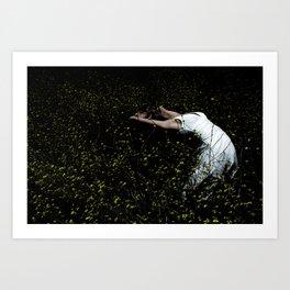 Dancer In The Field Art Print