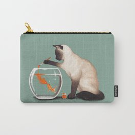 Goldfish need friend Carry-All Pouch