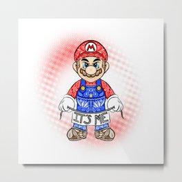 It's ME, Mario !  Metal Print