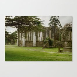 Old Ruins in Margam Park Canvas Print