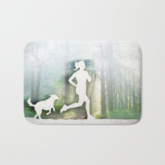 Forest Run Bath Mat