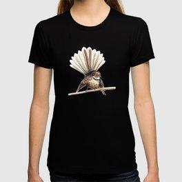 Piwakawaka / Fantail - a native New Zealand bird 2011 T-shirt