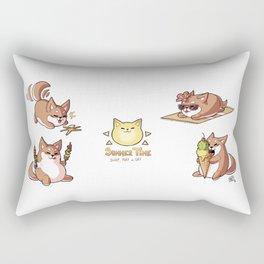 Shibb#05 - Summer Rectangular Pillow