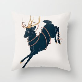 Prince of the Forest Throw Pillow