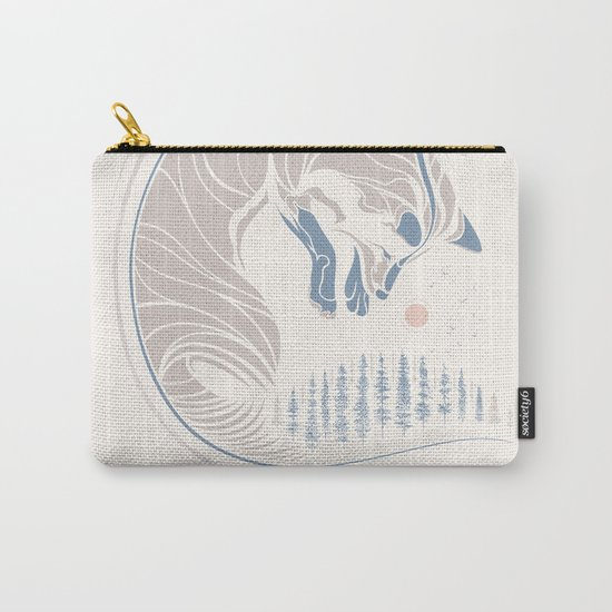 Chasing It's Tail Carry-All Pouch