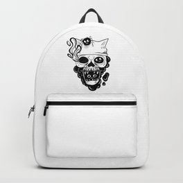 Skull and spiders Backpack