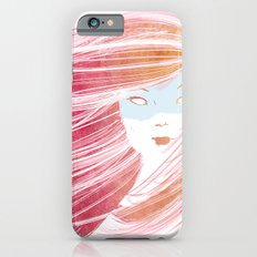 Girl with Pink Hair Slim Case iPhone 6s