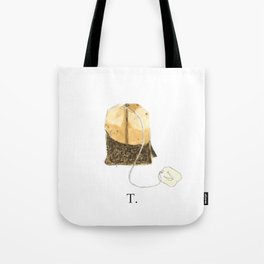 T is for Tea. Tote Bag