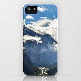Early Morning Icefields Parkway iPhone Case