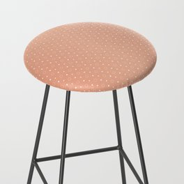 Art Deco, Simple Shapes Pattern 1 [ROSE GOLD] Bar Stool