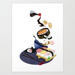 Food of Japan Art Print