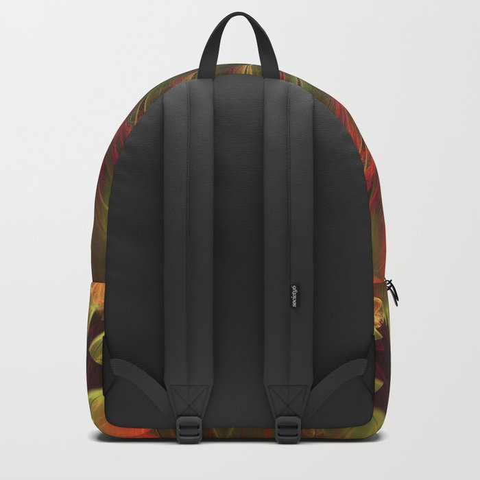 Moody fall abstract Backpack