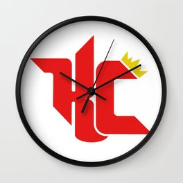Red Kingdom Wall Clock