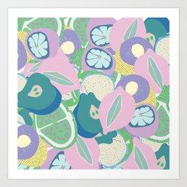 Trippy sangria Art Print