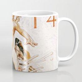 Joseph Christian Leyendecker - New Year Baby 1914 - Digital Remastered Edition Coffee Mug