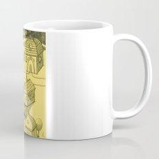 Moonlit Village Mug