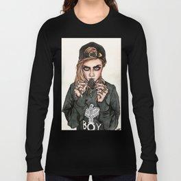 Cara Delevingne x Terry Richardson Long Sleeve T-shirt