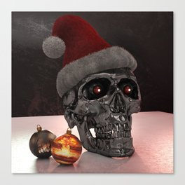 T-Xmas (The Christmasnator) Canvas Print