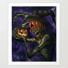 Hobnobbin' with a Goblin Art Print