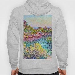 Landscape near Montecarlo - Claude Monet Hoody
