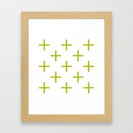 plus Framed Art Print