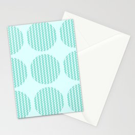 Looking At The Ocean Through The Holes Stationery Cards
