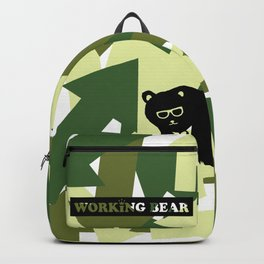 WORKING BEAR - Arrows Backpack