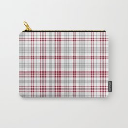 Bama crimson tide college state pattern print university of alabama varsity alumni gifts plaid Carry-All Pouch