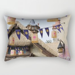 Tangled Tower Rectangular Pillow