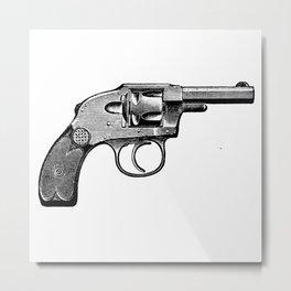 Revolver 5 Metal Print