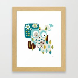 Owl Be There Framed Art Print