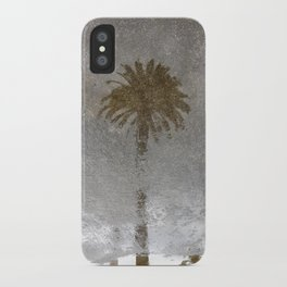 Rainy Day Palm Tree iPhone Case