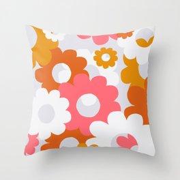 flower power, 1960 Throw Pillow