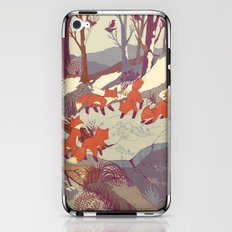 Fisher Fox iPhone & iPod Skin