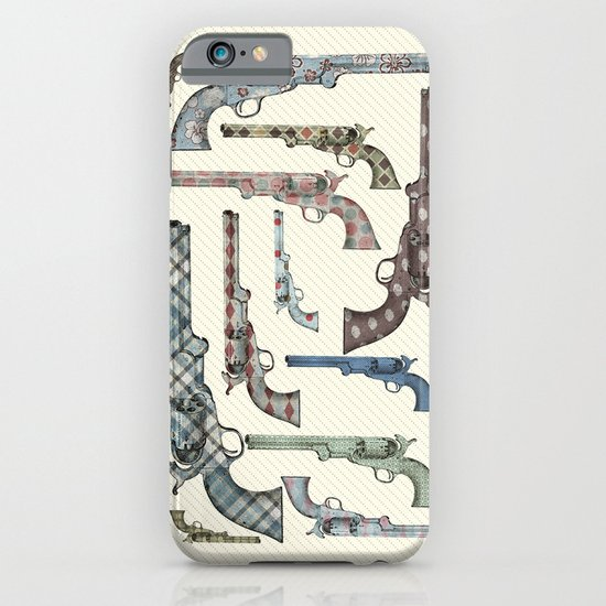 My vintage collection of pistols iPhone & iPod Case
