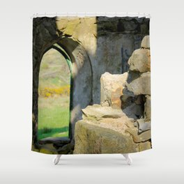 Tower Ruins Shower Curtain