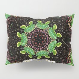 Be Yourself Quote on Cactus Pillow Sham