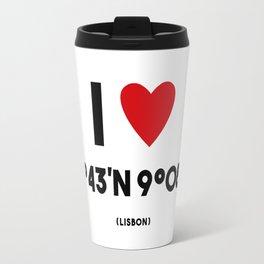 I LOVE LISBON Travel Mug