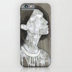 girl with a silver trabzon hasırı necklace iPhone 6s Slim Case