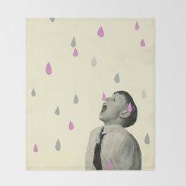 Taste the Rain Throw Blanket