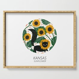 American Cats - Kansas Serving Tray