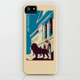 Art Institute Chicago iPhone Case