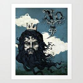 God Says No. Art Print
