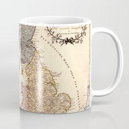 Map Of Great Britain 1795 Coffee Mug