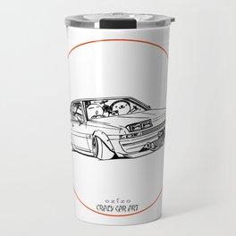 Crazy Car Art 0220 Travel Mug