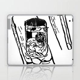 Verre sur chaise Laptop & iPad Skin