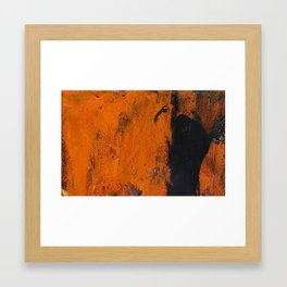 The Shape of Anger Framed Art Print