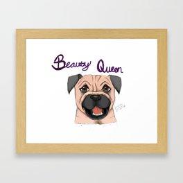 Beauty Queen Framed Art Print