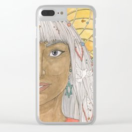 Elisabeth Clear iPhone Case