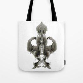 Rorschach Winner Tote Bag